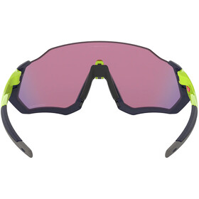 Oakley Flight Jacket Gafas de sol, matte navy/prizm road